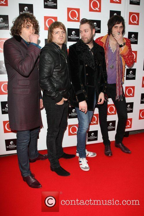 Kasabian The Q Awards 2009 - arrivals London,...