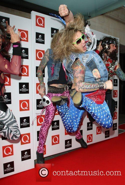 Steel Panther The Q Awards 2009 - arrivals...