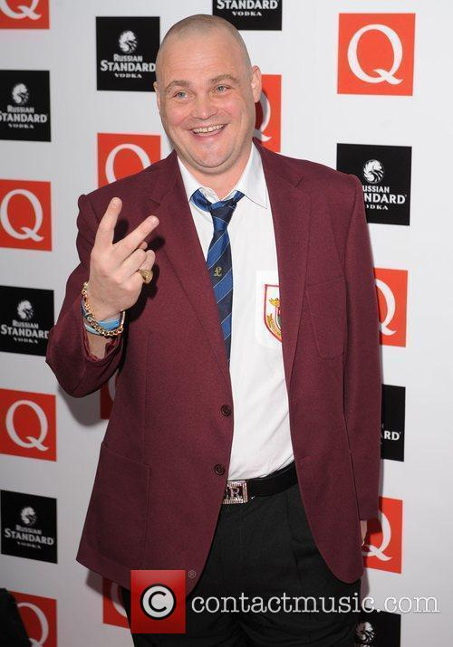 Al Murray  at the Q Awards at...