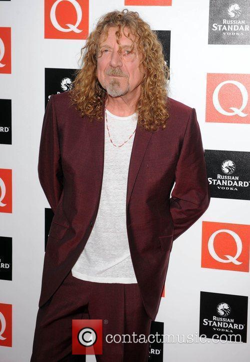 Robert Plant  at the Q Awards at...