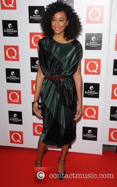 Corinne Bailey Rae  at The Q Awards...