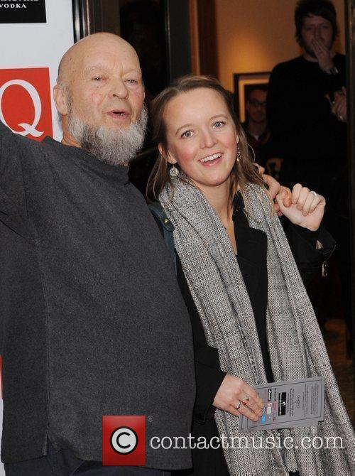 Emily Eavis and Michael Eavis at The Q...