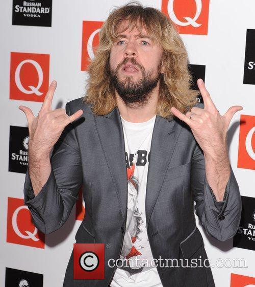 Justin Lee Collins at The Q Awards held...