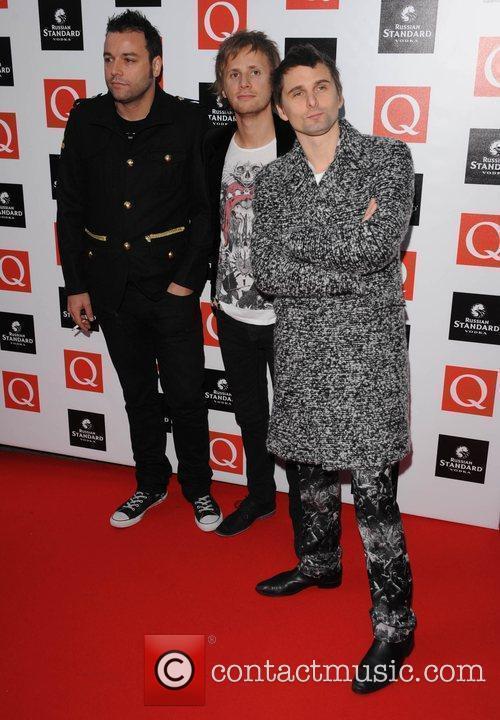 Muse  at The Q Awards held at...
