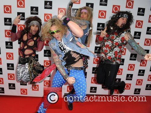 Steel Panther  at The Q Awards held...
