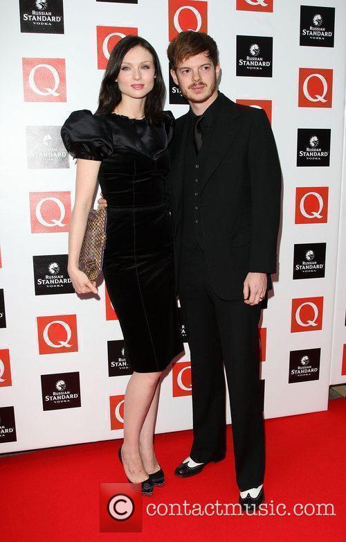 Sophie Ellis-Bextor with her husband Richard Jones The...