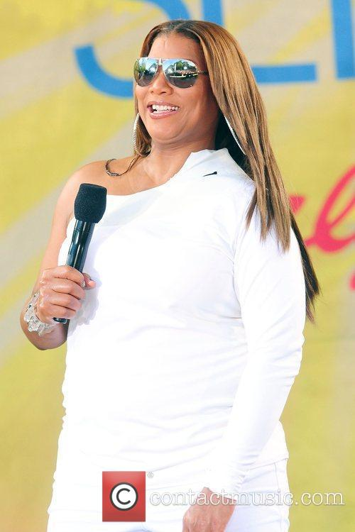 Queen Latifah and Central Park 8