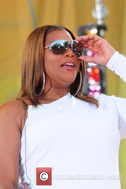 Queen Latifah and Central Park 4