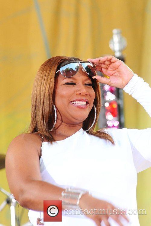 Queen Latifah and Central Park 7