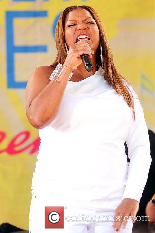 Queen Latifah and Central Park 9
