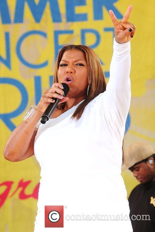 Queen Latifah and Central Park 3
