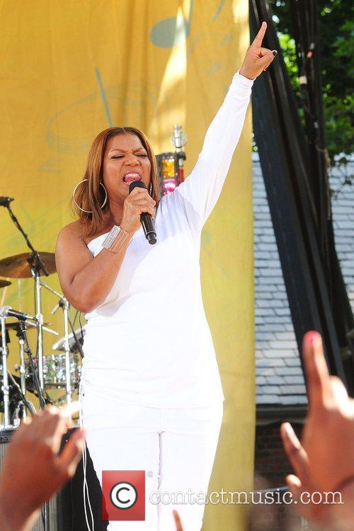 Queen Latifah and Central Park 2
