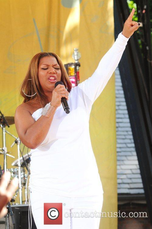 Queen Latifah and Central Park 6