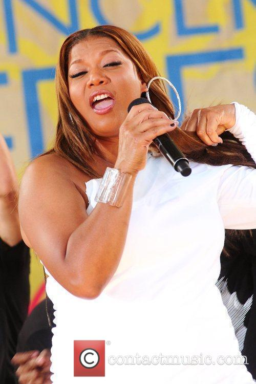 Queen Latifah and Central Park 13