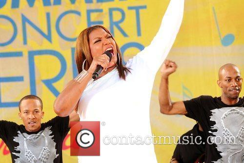 Queen Latifah and Central Park 14