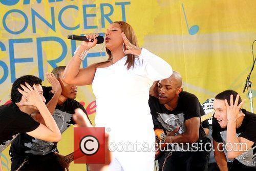 Queen Latifah and Central Park 10