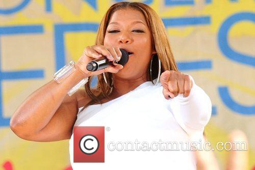 Queen Latifah and Central Park 17