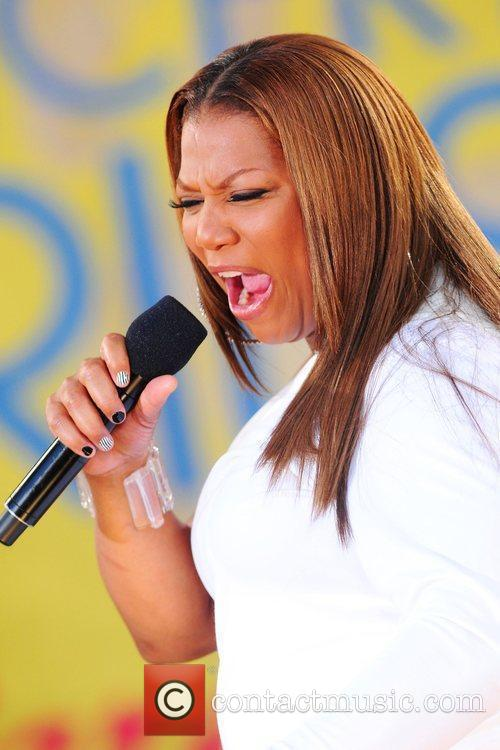 Queen Latifah and Central Park 22