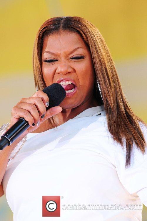 Queen Latifah and Central Park 32