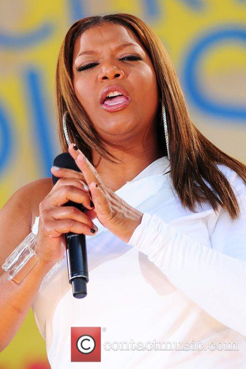 Queen Latifah and Central Park 31