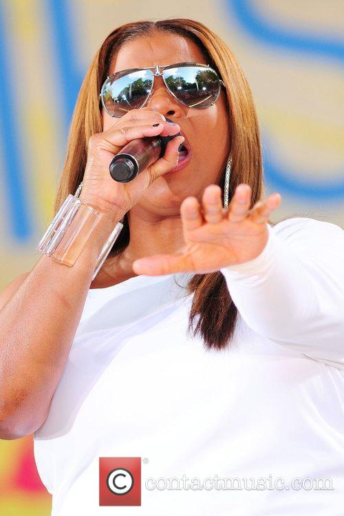 Queen Latifah and Central Park 21