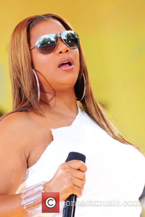 Queen Latifah and Central Park 23