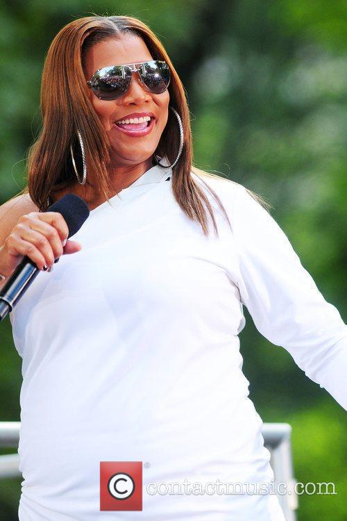 Queen Latifah and Central Park 1