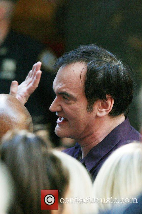 Director Quentin Tarantino stopped by NBC's 'Today Show'...