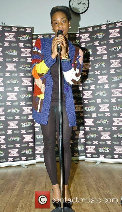 The former X Factor Finalist performing at the...