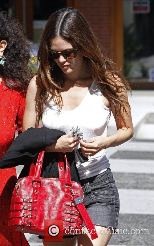 Rachel Bilson leaving La Scala Restaurant in Beverly...