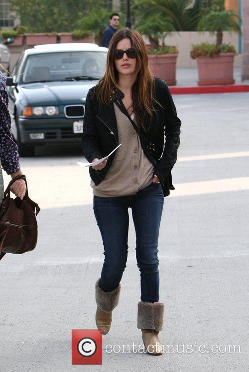 Rachel Bilson, A Friend Pick Up Miniature Lights and Other Supplies At Michael's In Glendale 5