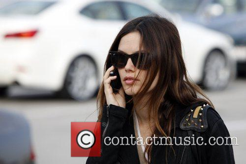 Rachel Bilson, a friend pick up miniature lights and other supplies at Michael's in Glendale 23