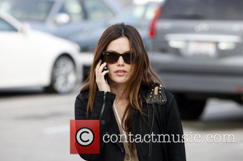Rachel Bilson, a friend pick up miniature lights and other supplies at Michael's in Glendale 25