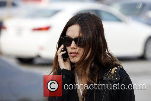 Rachel Bilson, a friend pick up miniature lights and other supplies at Michael's in Glendale 20