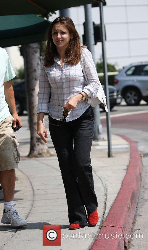 Rachel Leigh Cook leaving Cafe Med West Hollywood,...