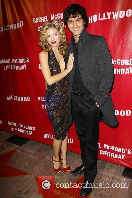Annalynne Mccord and Michael Steger