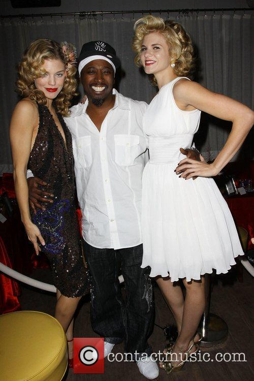 Annalynne Mccord, Eddie Griffin and Angel Mccord 9