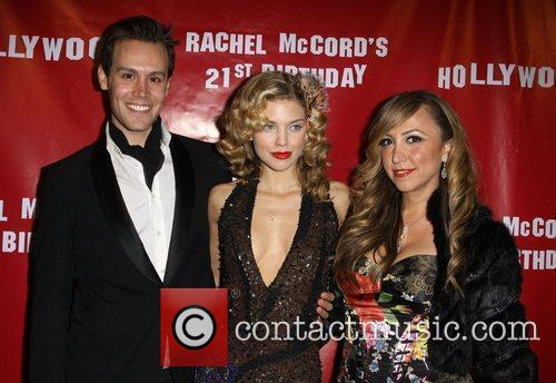 Rachel McCord's 21st birthday party held at Skybar...