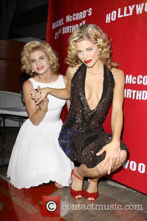 AnnaLynne McCord and Angel McCord 2