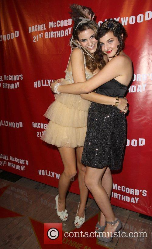 Rachel McCord and guest Rachel McCord's 21st birthday...