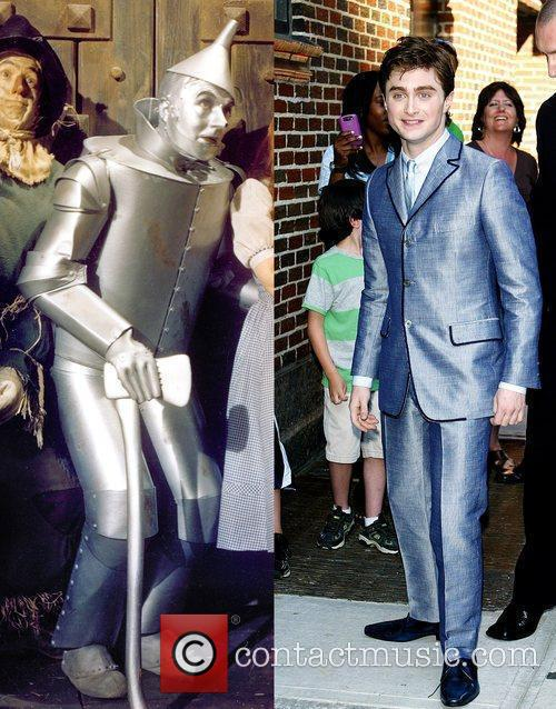 Harry Potter, David Letterman, Daniel Radcliffe, The Wizard Of Oz and Ed Sullivan Theatre 1