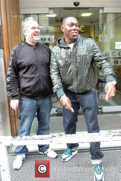 Chris Moyles and Dizzee Rascal 1