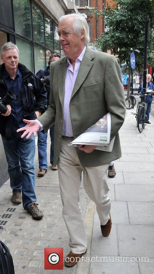 Tim Rice Outside The Bbc Radio 2 Studios 3