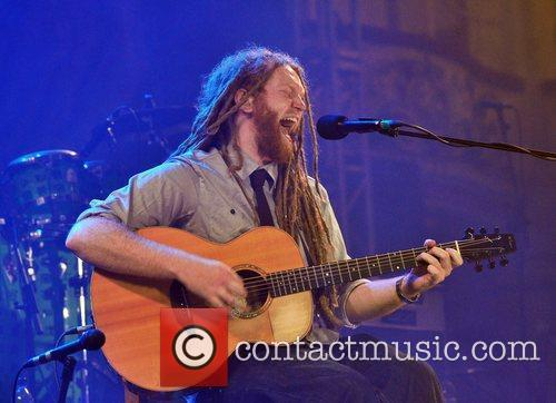 Newton Faulkner Performing Live At The Bbc Radio 2 Live In Blackpool Concert Held At The Empress Ballroom Winter Garden 2