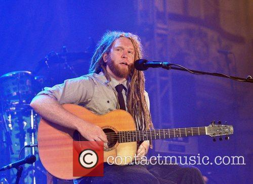 Newton Faulkner Performing Live At The Bbc Radio 2 Live In Blackpool Concert Held At The Empress Ballroom Winter Garden 1