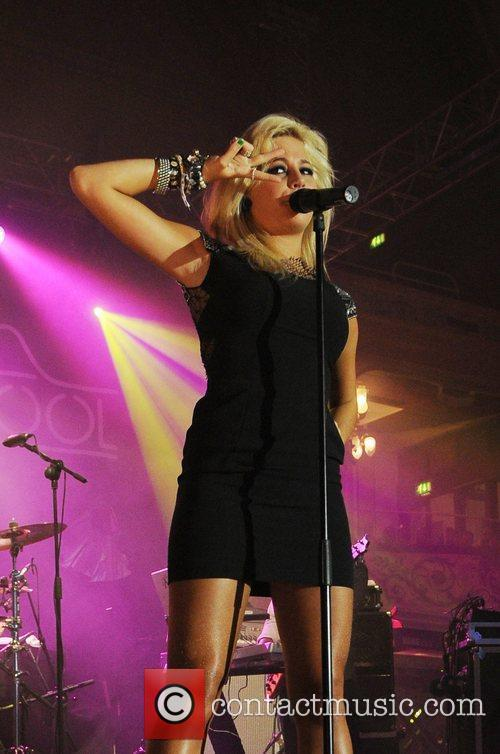 Pixie Lott performing live at the BBC Radio...