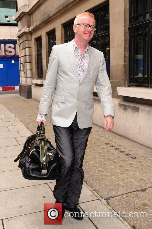 Chris Evans leaving Radio Two studios