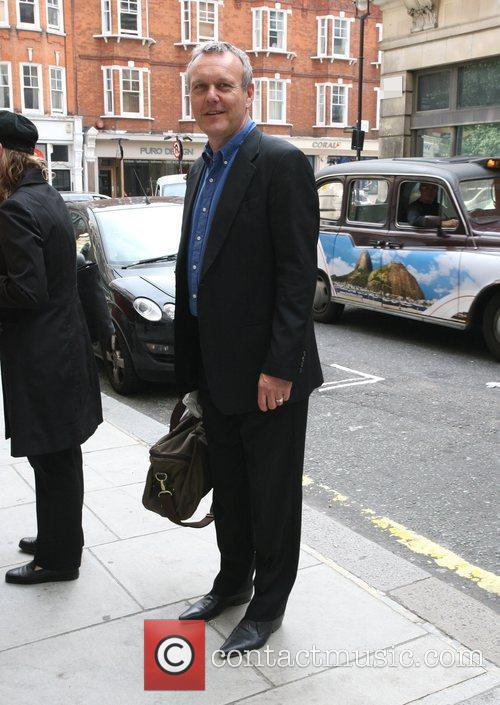Acotr Anthony Head outside the BBC Radio 2...