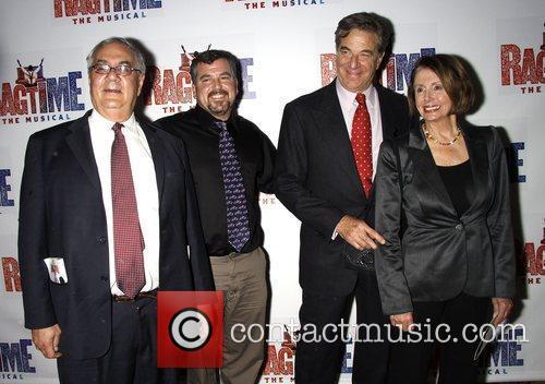 Barney Frank, Jim Ready, Paul Pelosi and Nancy...