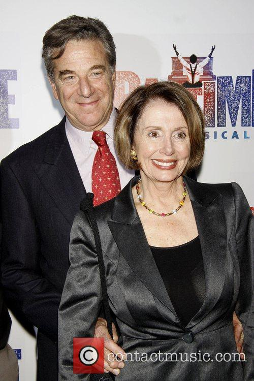 Paul Pelosi and Nancy Pelosi Opening night after...